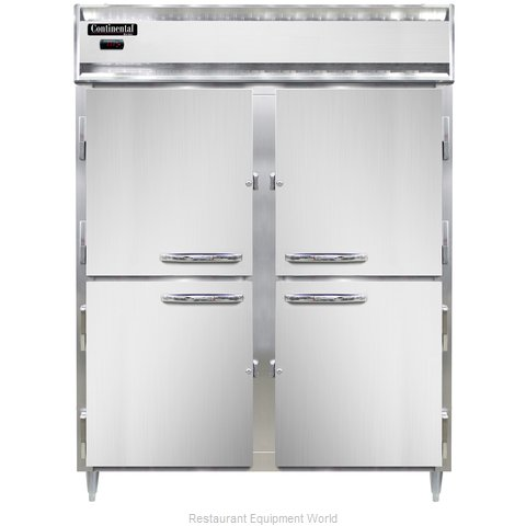 Continental Refrigerator DL2WE-SS-HD Heated Cabinet, Reach-In