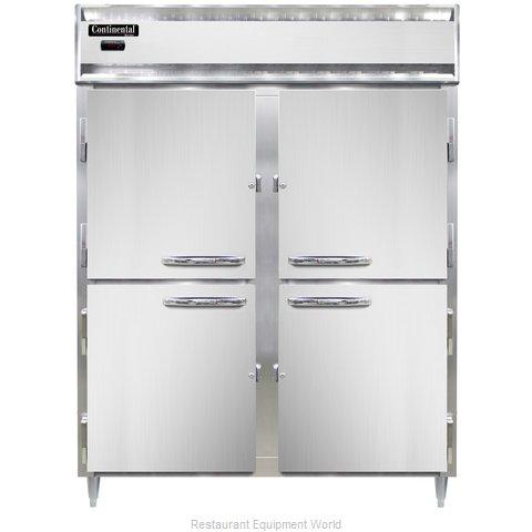 Continental Refrigerator DL2WE-SS-PT-HD Heated Cabinet, Pass-Thru