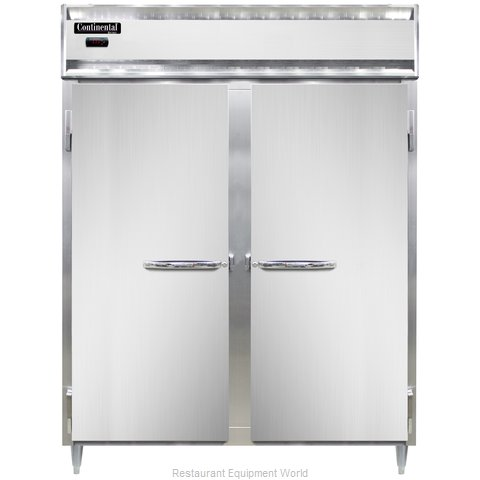 Continental Refrigerator DL2WE Heated Cabinet, Reach-In