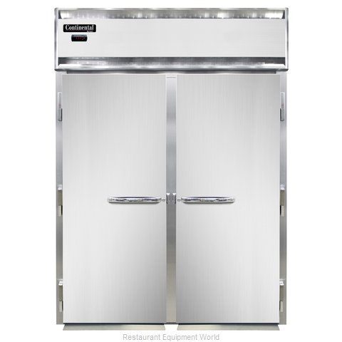 Continental Refrigerator DL2WI-SA Heated Cabinet, Roll-In