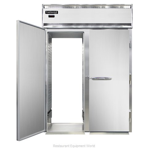 Continental Refrigerator DL2WI-SS-RT-E Heated Cabinet, Roll-Thru