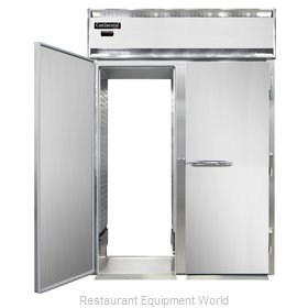 Continental Refrigerator DL2WI-SS-RT-E Heated Cabinet, Roll-Thru