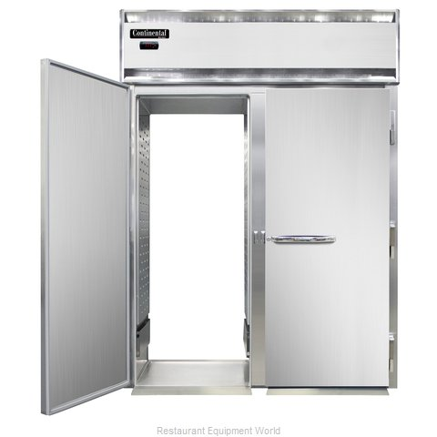 Continental Refrigerator DL2WI-SS-RT Heated Cabinet, Roll-Thru