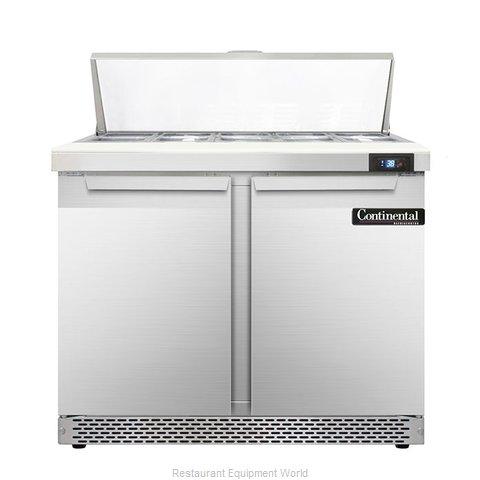 Continental Refrigerator DL36-10-FB Refrigerated Counter, Sandwich / Salad Top