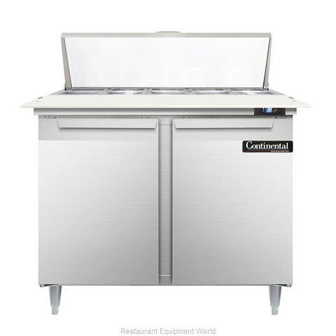 Continental Refrigerator DL36-10C Refrigerated Counter, Sandwich / Salad Top