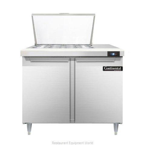 Continental Refrigerator DL36-12M Refrigerated Counter, Mega Top Sandwich / Sala