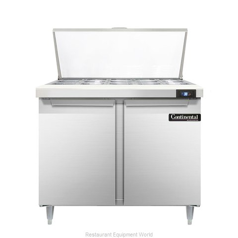 Continental Refrigerator DL36-15M Refrigerated Counter, Mega Top Sandwich / Sala
