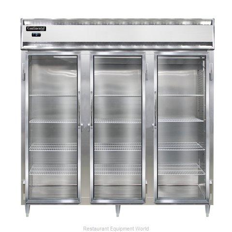 Continental Refrigerator DL3F-GD Freezer, Reach-In