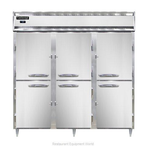 Continental Refrigerator DL3F-PT-HD Freezer, Pass-Thru