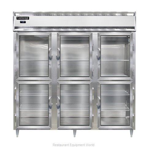 Continental Refrigerator DL3F-SA-GD-HD Freezer, Reach-In