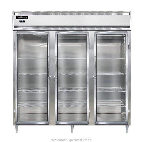 Continental Refrigerator DL3F-SA-GD Freezer, Reach-In