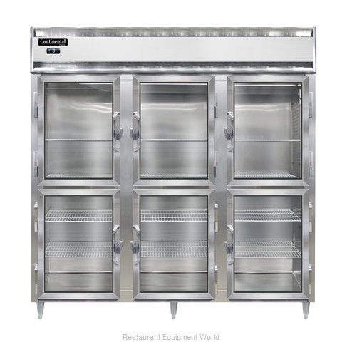 Continental Refrigerator DL3F-SS-GD-HD Freezer, Reach-In