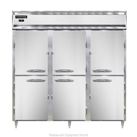 Continental Refrigerator DL3F-SS-PT-HD Freezer, Pass-Thru