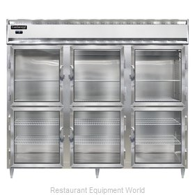 Continental Refrigerator DL3FE-GD-HD Freezer, Reach-In