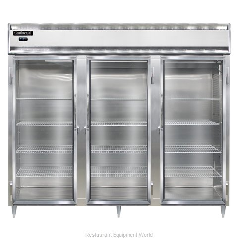 Continental Refrigerator DL3FE-GD Freezer, Reach-In
