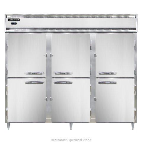 Continental Refrigerator DL3FE-HD Freezer, Reach-In