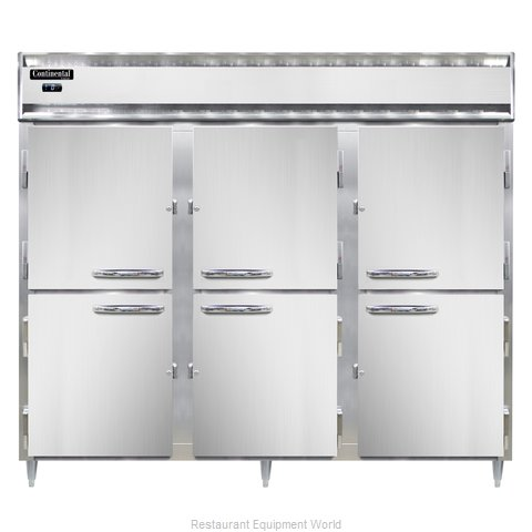 Continental Refrigerator DL3FE-PT-HD Freezer, Pass-Thru