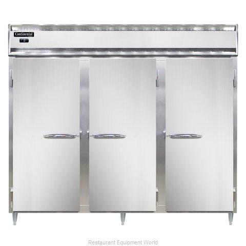Continental Refrigerator DL3FE-PT Freezer, Pass-Thru