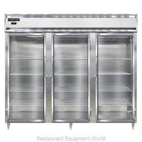 Continental Refrigerator DL3FE-SS-GD Freezer, Reach-In