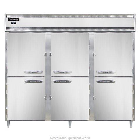 Continental Refrigerator DL3FE-SS-PT-HD Freezer, Pass-Thru