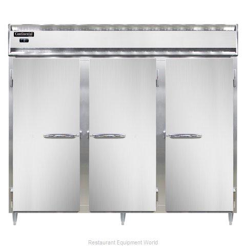 Continental Refrigerator DL3FE-SS-PT Freezer, Pass-Thru