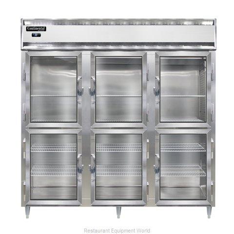 Continental Refrigerator DL3R-GD-HD Refrigerator, Reach-In