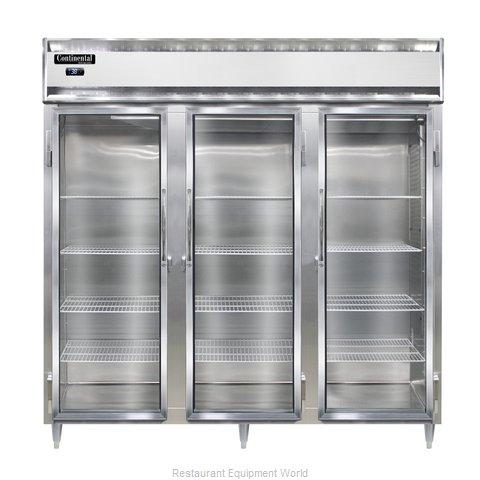 Continental Refrigerator DL3R-GD Refrigerator, Reach-In