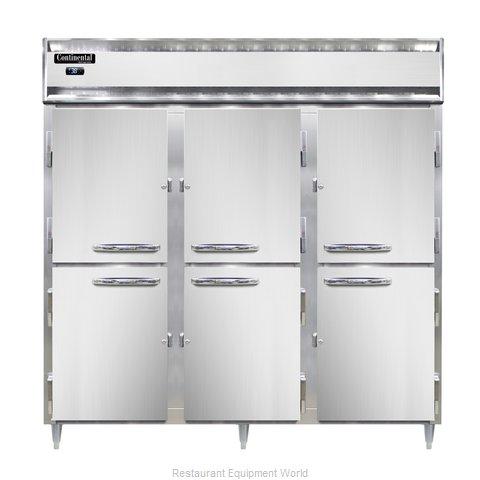 Continental Refrigerator DL3R-PT-HD Refrigerator, Pass-Thru