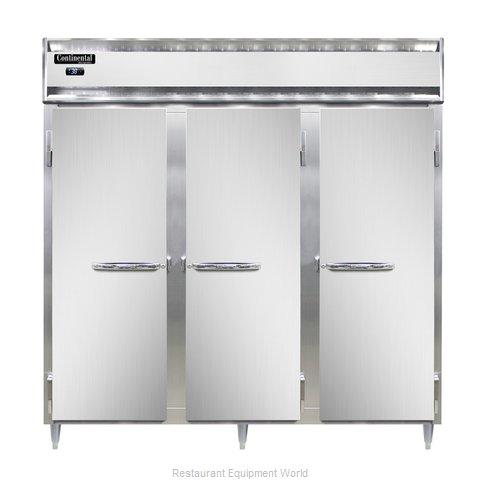 Continental Refrigerator DL3R-SS Refrigerator, Reach-In