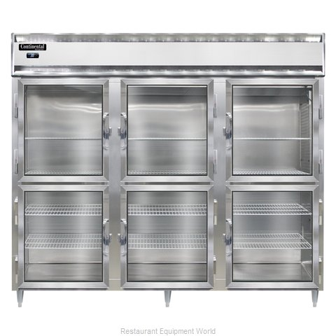 Continental Refrigerator DL3RE-GD-HD Refrigerator, Reach-In (Magnified)