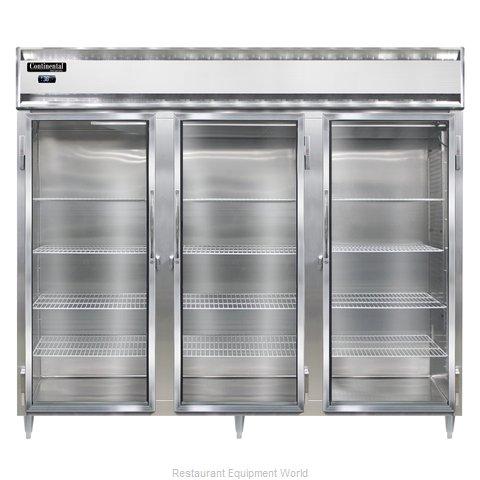Continental Refrigerator DL3RE-GD Refrigerator, Reach-In