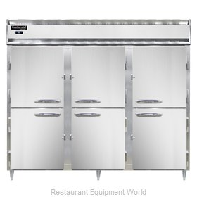 Continental Refrigerator DL3RE-PT-HD Refrigerator, Pass-Thru