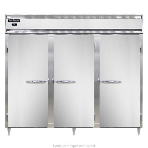 Continental Refrigerator DL3RE-PT Refrigerator, Pass-Thru