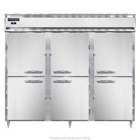 Continental Refrigerator DL3RE-SA-HD Refrigerator, Reach-In