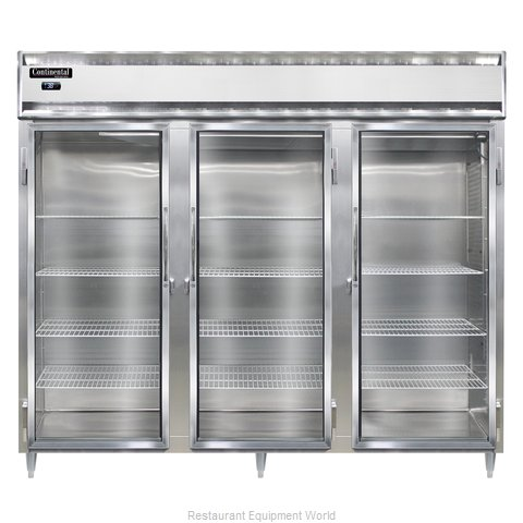 Continental Refrigerator DL3RE-SS-GD Refrigerator, Reach-In