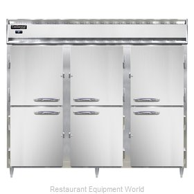 Continental Refrigerator DL3RE-SS-PT-HD Refrigerator, Pass-Thru