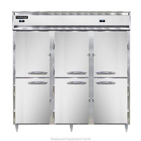 Continental Refrigerator DL3RFF-HD Refrigerator Freezer, Reach-In