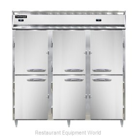 Continental Refrigerator DL3RFF-PT-HD Refrigerator Freezer, Pass-Thru