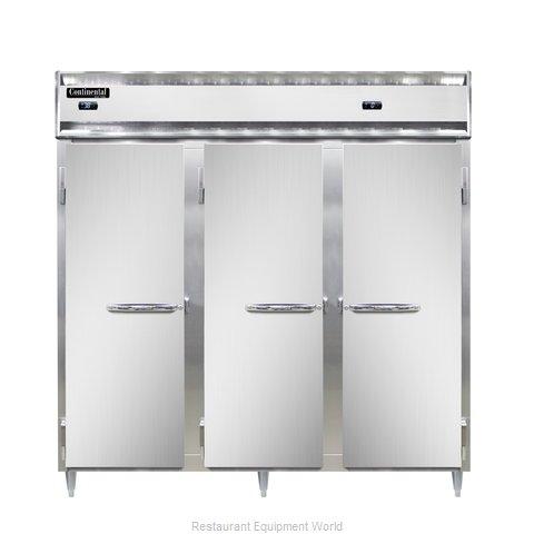 Continental Refrigerator DL3RFF-SS Refrigerator Freezer, Reach-In