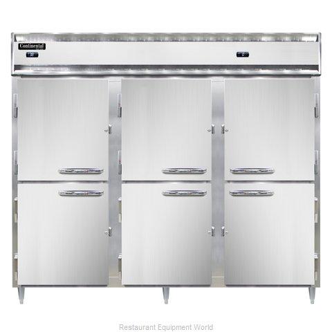 Continental Refrigerator DL3RFFE-HD Refrigerator Freezer, Reach-In
