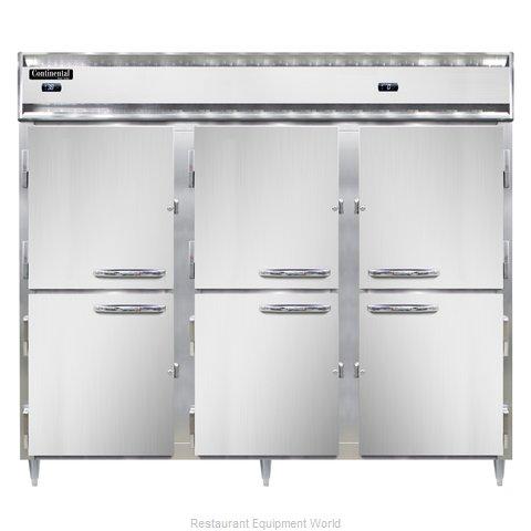 Continental Refrigerator DL3RFFE-PT-HD Refrigerator Freezer, Pass-Thru