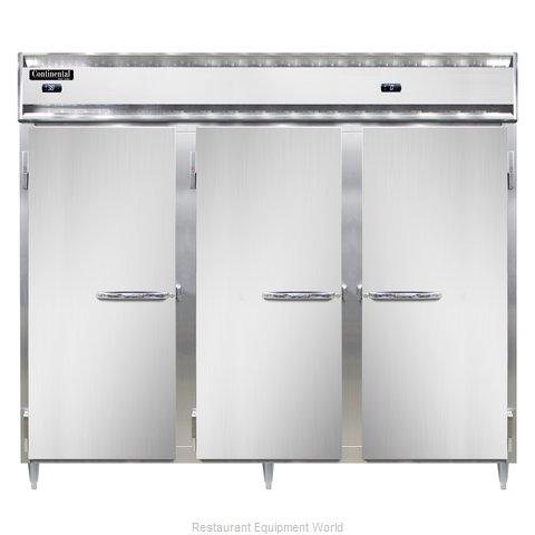 Continental Refrigerator DL3RFFE-PT Refrigerator Freezer, Pass-Thru