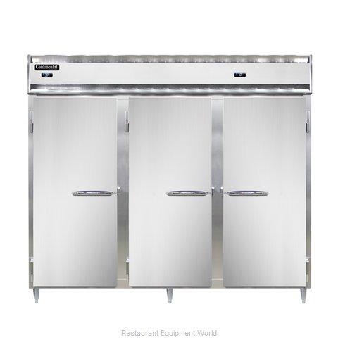Continental Refrigerator DL3RFFE-SA Refrigerator Freezer, Reach-In