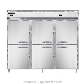 Continental Refrigerator DL3RFFE-SS-HD Refrigerator Freezer, Reach-In