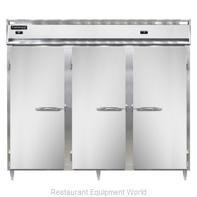Continental Refrigerator DL3RFFE Refrigerator Freezer, Reach-In