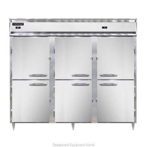 Continental Refrigerator DL3RFFES-HD Refrigerator Freezer, Reach-In
