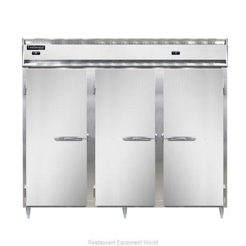 Continental Refrigerator DL3RFFES-SA Refrigerator Freezer, Reach-In