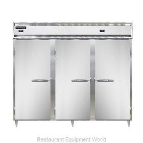 Continental Refrigerator DL3RFFES Refrigerator Freezer, Reach-In