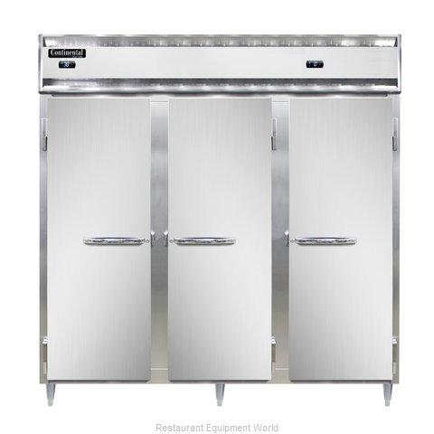 Continental Refrigerator DL3RRF-PT Refrigerator Freezer, Pass-Thru