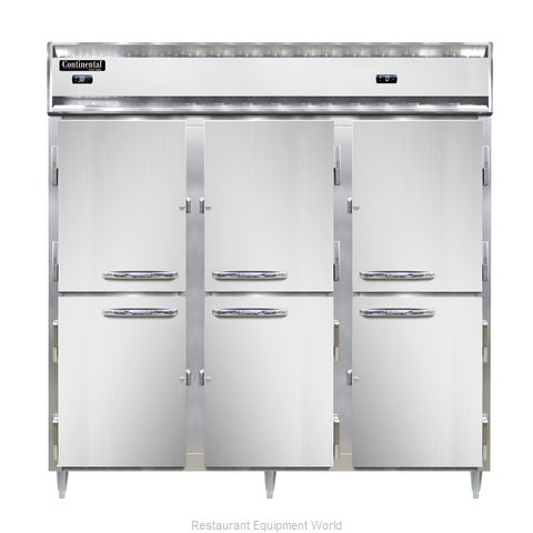 Continental Refrigerator DL3RRF-SA-HD Refrigerator Freezer, Reach-In